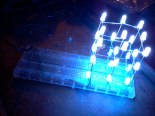 cubo di led fatto in collaborazione con ada lab