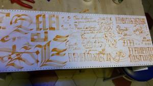 prove calligrafiche